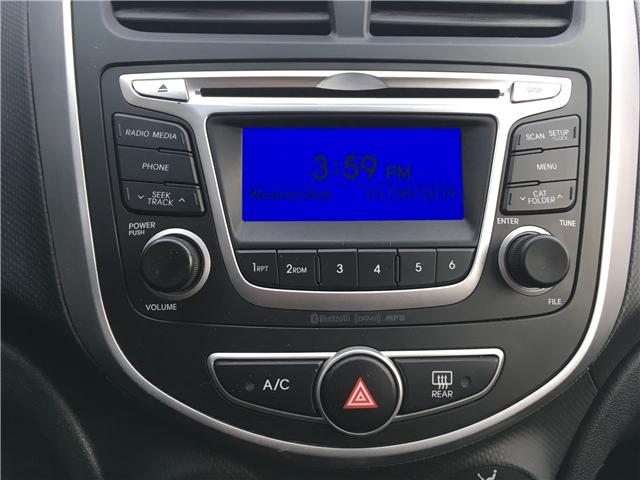 2014 Hyundai Accent GLS (Stk: 19047-1) in Pembroke - Image 17 of 20
