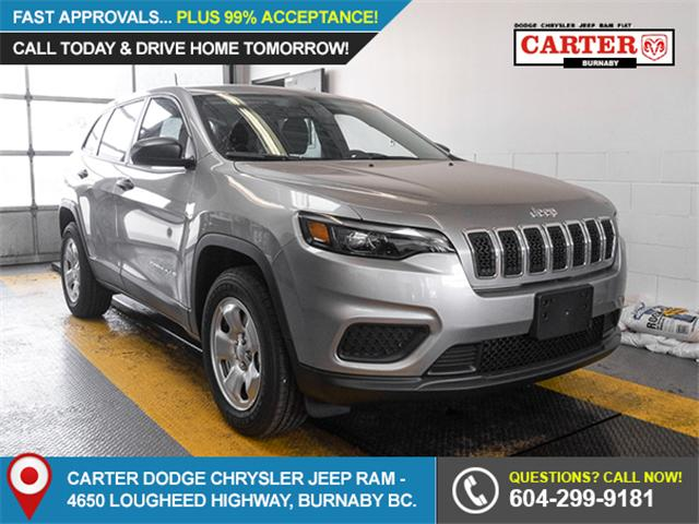 2019 Jeep Cherokee Sport (Stk: K746670) in Burnaby - Image 1 of 7