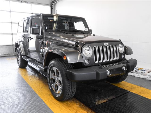 2018 Jeep Wrangler JK Unlimited Sahara (Stk: Y039500) in Burnaby - Image 2 of 7
