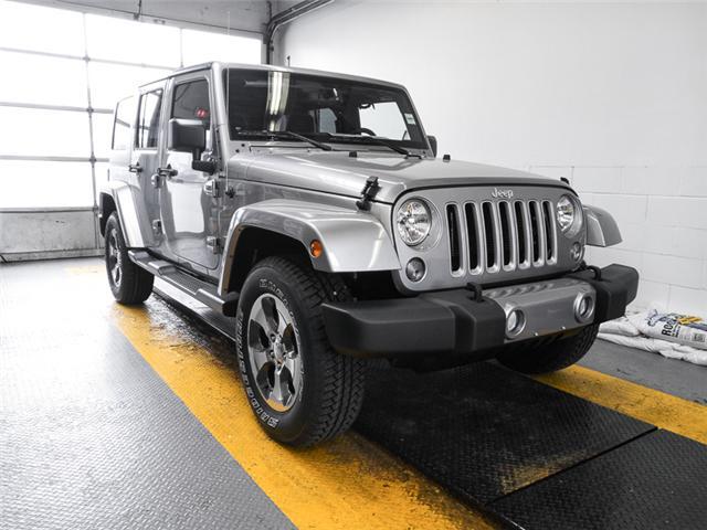 2018 Jeep Wrangler JK Unlimited Sahara (Stk: Y039990) in Burnaby - Image 2 of 7