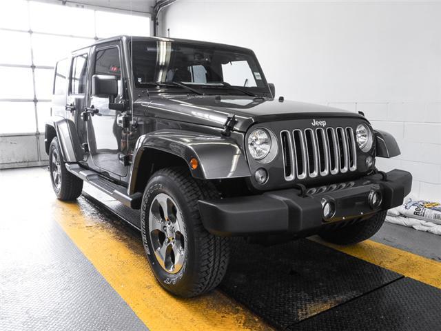 2018 Jeep Wrangler JK Unlimited Sahara (Stk: Y039460) in Burnaby - Image 2 of 7