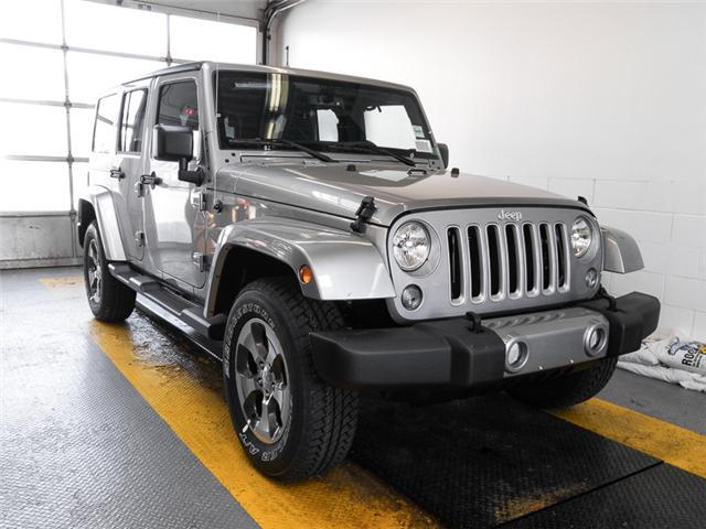 2018 Jeep Wrangler JK Unlimited Sahara (Stk: Y040000) in Burnaby - Image 2 of 7