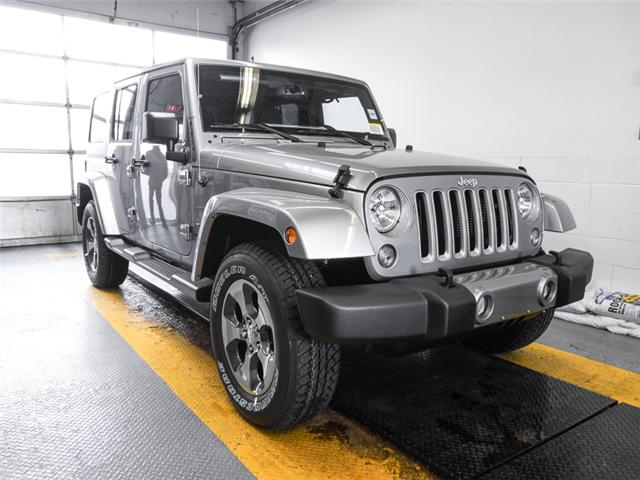 2018 Jeep Wrangler JK Unlimited Sahara (Stk: Y039980) in Burnaby - Image 2 of 7