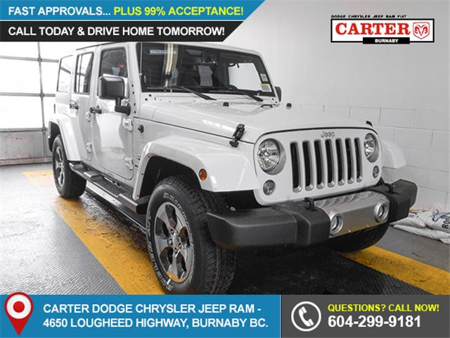 2018 Jeep Wrangler JK Unlimited Sahara (Stk: Y039020A) in Burnaby - Image 1 of 7
