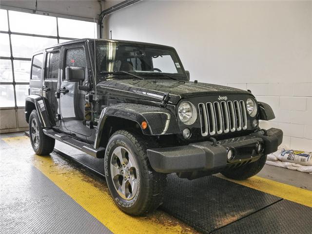 2018 Jeep Wrangler JK Unlimited Sahara (Stk: Y038240) in Burnaby - Image 2 of 13