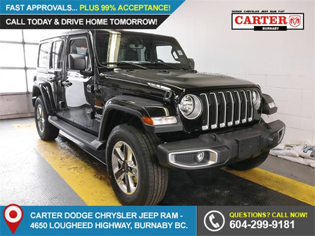 2018 Jeep Wrangler Unlimited Sahara (Stk: Y508180) in Burnaby - Image 1 of 12