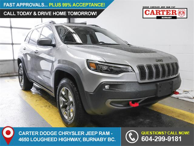 2019 Jeep Cherokee Trailhawk (Stk: K051040) in Burnaby - Image 1 of 13
