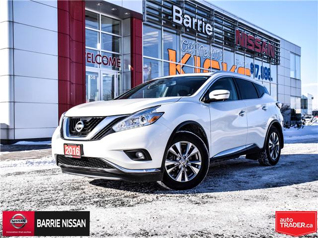 2016 Nissan Murano SL (Stk: 19023A) in Barrie - Image 1 of 28