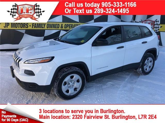 2017 Jeep Cherokee Sport (Stk: 46178) in Burlington - Image 1 of 25