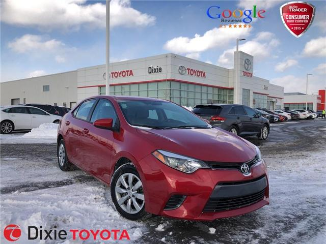2016 Toyota Corolla  (Stk: 72239) in Mississauga - Image 1 of 19
