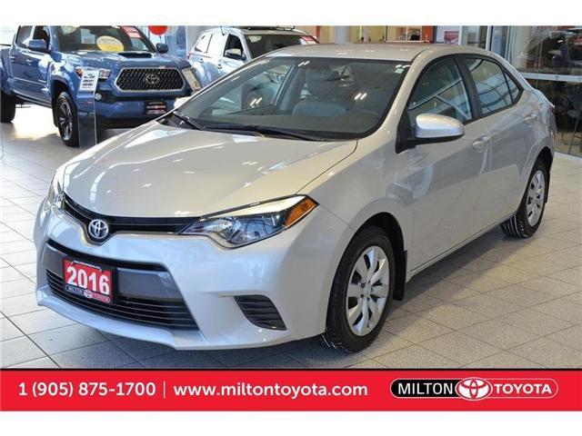 2016 Toyota Corolla  (Stk: 729659A) in Milton - Image 1 of 37