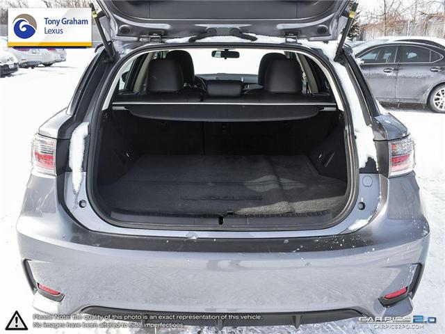 2016 Lexus CT 200h Base (Stk: X1378) in Ottawa - Image 11 of 27