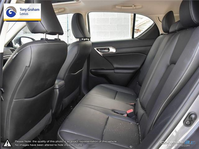 2016 Lexus CT 200h Base (Stk: X1378) in Ottawa - Image 24 of 27