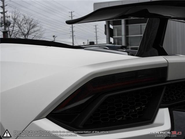 2018 Lamborghini Huracan Performante (Stk: 19MSX047) in Mississauga - Image 12 of 29