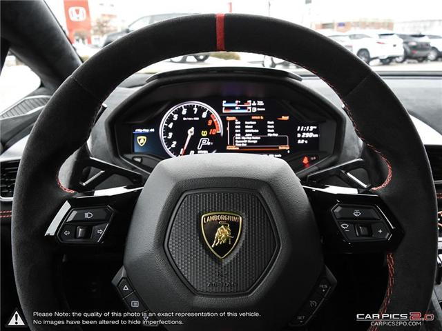 2018 Lamborghini Huracan Performante (Stk: 19MSX047) in Mississauga - Image 14 of 29