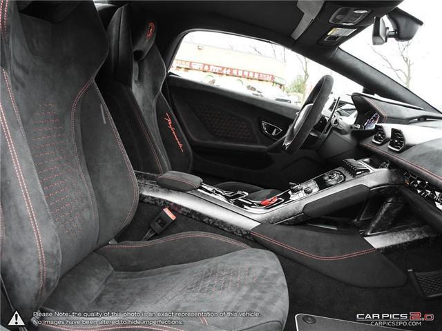 2018 Lamborghini Huracan Performante (Stk: 19MSX047) in Mississauga - Image 24 of 29