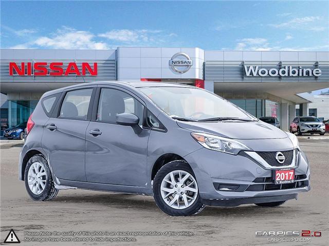 2017 Nissan Versa Note 1.6 SV (Stk: P7192) in Etobicoke - Image 1 of 24