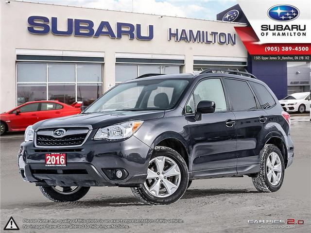 2016 Subaru Forester 2.5i Convenience Package (Stk: U1399) in Hamilton - Image 1 of 26