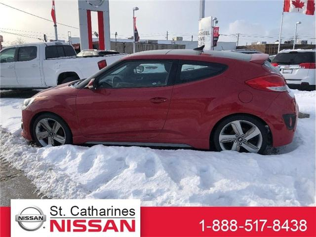 2013 Hyundai Veloster Turbo (Stk: MX18019B) in St. Catharines - Image 1 of 2