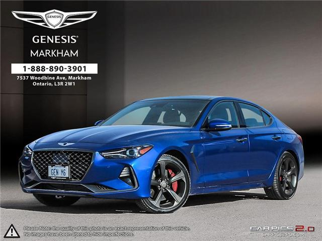 2019 Genesis G70 G70 4DR AT AWD SPORT (Stk: 184389) in Markham - Image 1 of 25