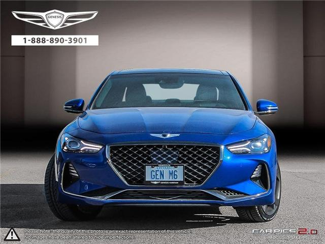 2019 Genesis G70 G70 4DR AT AWD SPORT (Stk: 184389) in Markham - Image 2 of 25