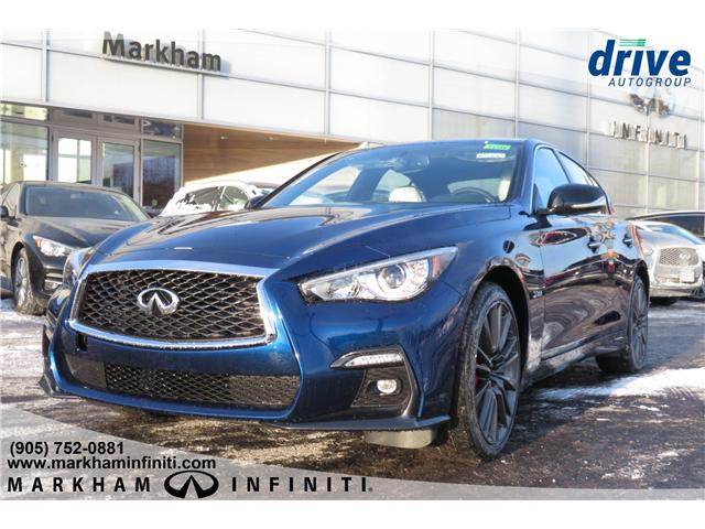 2019 Infiniti Q50 3.0t Red Sport 400 (Stk: K568) in Markham - Image 1 of 21