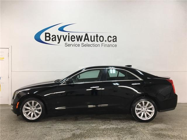 2017 Cadillac ATS 2.0L Turbo (Stk: 34358R) in Belleville - Image 1 of 26
