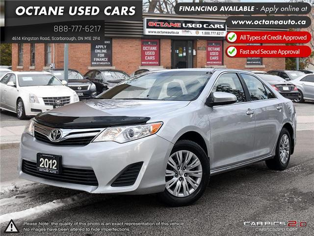 2012 Toyota Camry LE (Stk: ) in Scarborough - Image 1 of 22