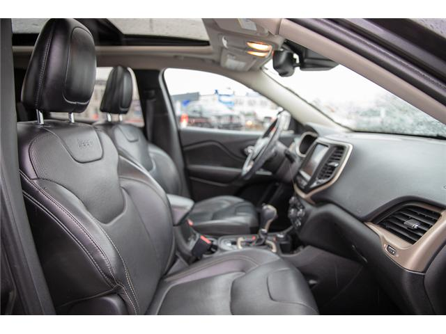 2016 Jeep Cherokee Limited (Stk: EE896810A) in Surrey - Image 13 of 14