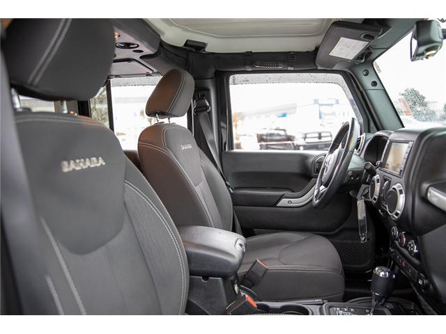 2017 Jeep Wrangler Unlimited Sahara (Stk: K548395A) in Surrey - Image 15 of 15
