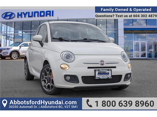 2012 Fiat 500 Sport (Stk: AH8789A) in Abbotsford - Image 1 of 25