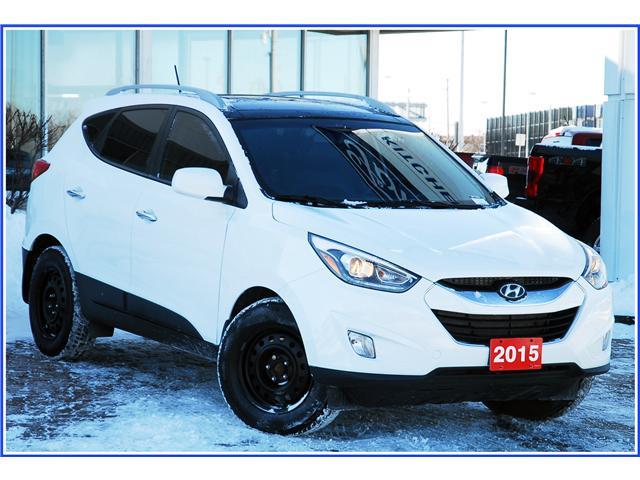 2015 Hyundai Tucson GLS (Stk: 9F1100A) in Kitchener - Image 2 of 17