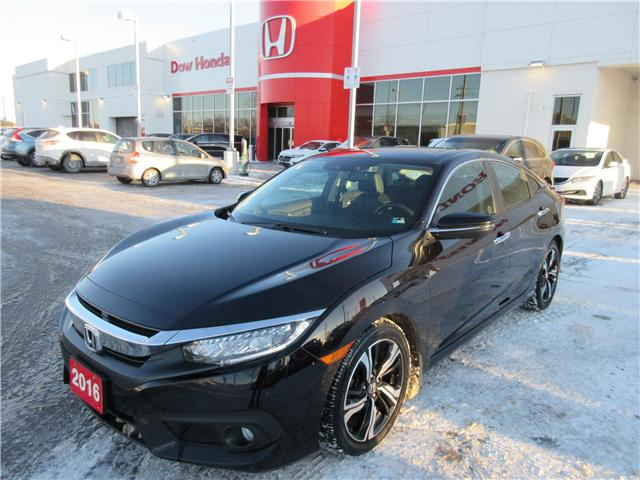 2016 Honda Civic Touring (Stk: 26157L) in Ottawa - Image 1 of 11