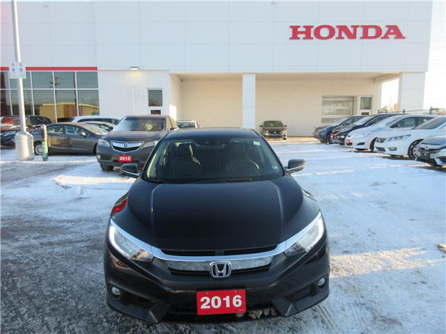 2016 Honda Civic Touring (Stk: 26157L) in Ottawa - Image 2 of 11