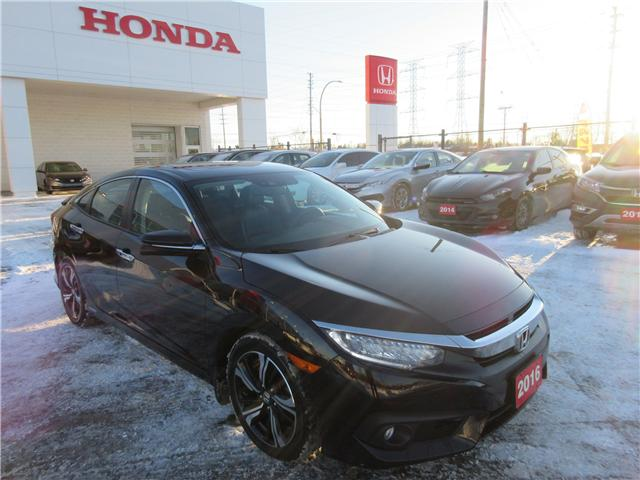 2016 Honda Civic Touring (Stk: 26157L) in Ottawa - Image 3 of 11