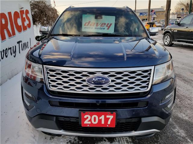 2017 Ford Explorer Platinum (Stk: 19-066T) in Oshawa - Image 2 of 21
