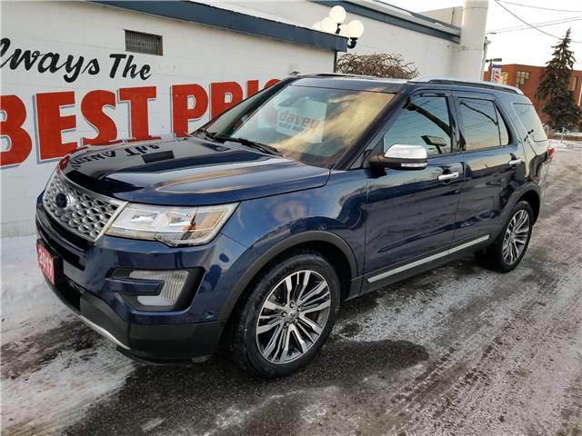 2017 Ford Explorer Platinum (Stk: 19-066T) in Oshawa - Image 3 of 21