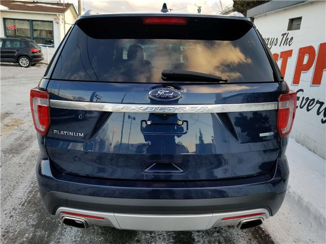 2017 Ford Explorer Platinum (Stk: 19-066T) in Oshawa - Image 6 of 21