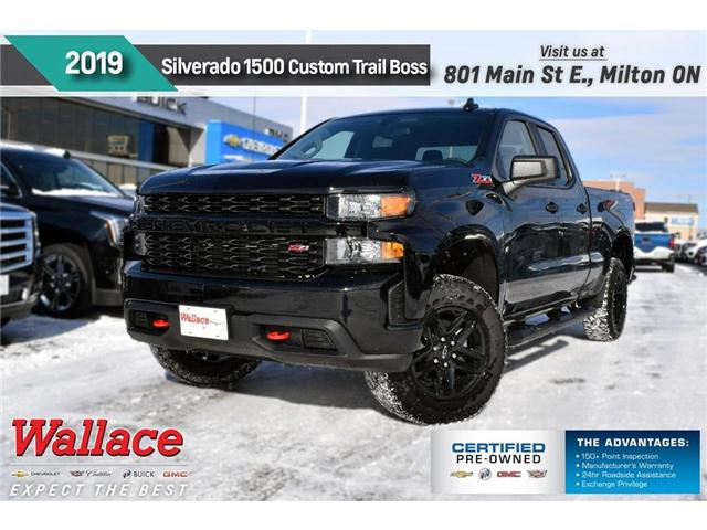 2019 Chevrolet Silverado 1500 Silverado Custom Trail Boss (Stk: 193158) in Milton - Image 1 of 9