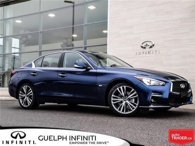 2019 Infiniti Q50 3.0t Signature Edition (Stk: I6879) in Guelph - Image 1 of 23