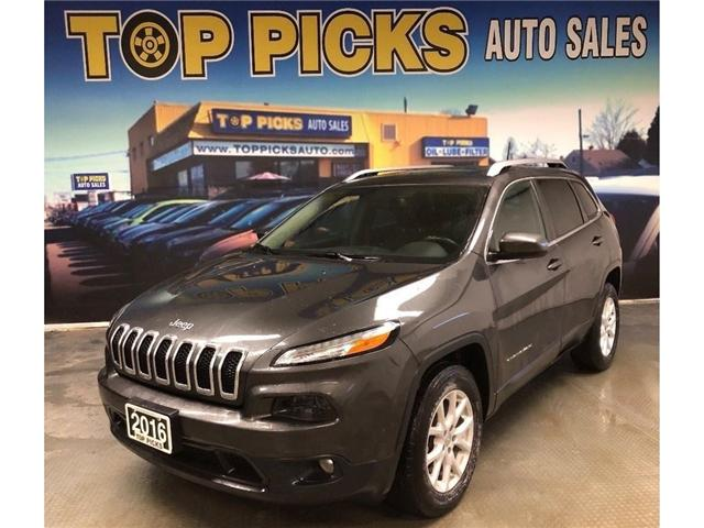 2016 Jeep Cherokee North (Stk: 116703) in NORTH BAY - Image 1 of 27