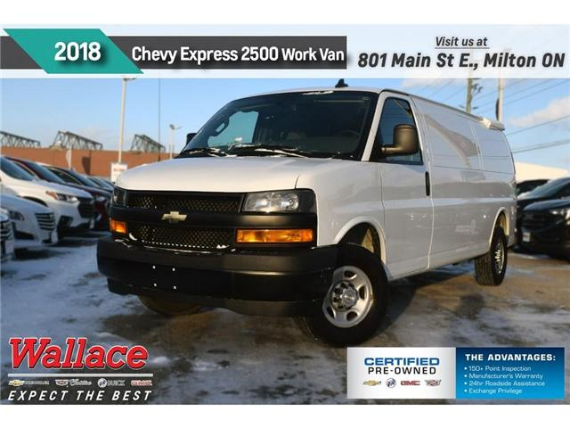 2018 Chevrolet Express 2500 Work Van/2-SEAT/REAR CAMRA/AC/PWR/SIDE DOOR (Stk: PR5053) in Milton - Image 1 of 15