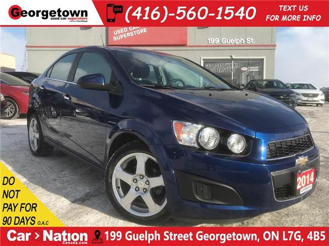 2014 Chevrolet Sonic LT| HEATED SEATS | ALLOYS | CLEAN CARFAX |ONLY 54K (Stk: P11390A) in Georgetown - Image 1 of 25