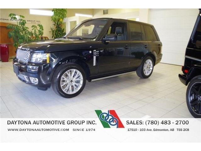 2012 Land Rover Range Rover Supercharged (Stk: 1743) in Edmonton - Image 1 of 21