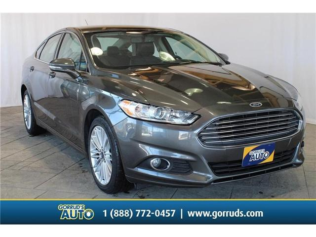 2016 Ford Fusion SE (Stk: 204610) in Milton - Image 1 of 40
