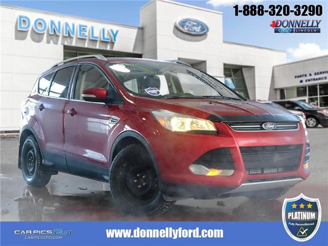 2014 Ford Escape Titanium (Stk: PLDU5993L) in Ottawa - Image 1 of 28