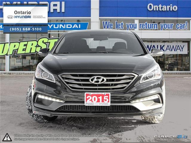2015 Hyundai Sonata 2.0T Ultimate / Pano Roof (Stk: 71227K) in Whitby - Image 2 of 27