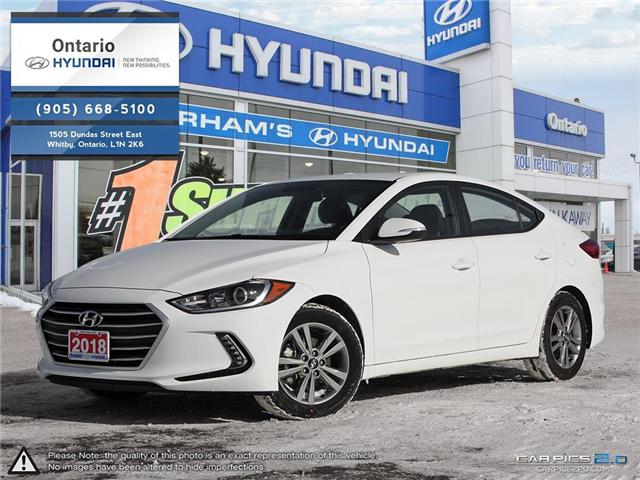 2018 Hyundai Elantra GL / APPLE CAR PLAY KMHD84LF7JU635403 35403K in Whitby