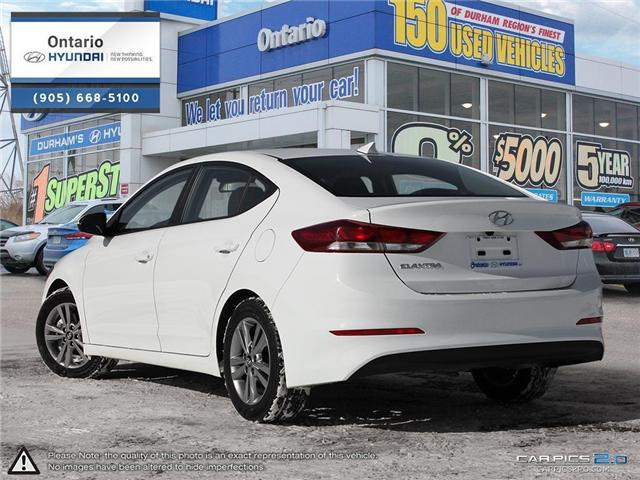2018 Hyundai Elantra GL / APPLE CAR PLAY (Stk: 35403K) in Whitby - Image 4 of 27