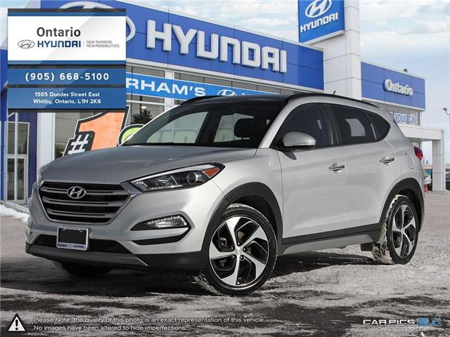 2017 Hyundai Tucson SE 1.6 Turbo (Stk: 42322K) in Whitby - Image 1 of 27